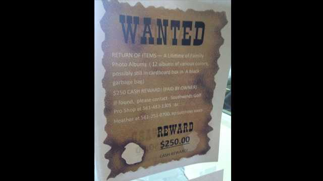 Wanted poster from Heather Kostenbauder
