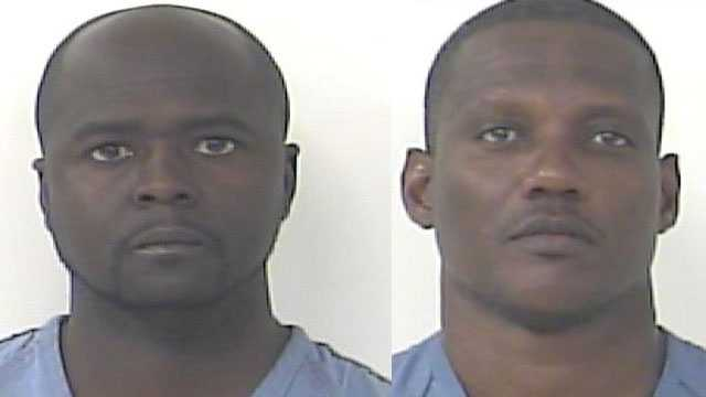 Jay Green Jr. and Mark Bellamy are accused of buying cocaine from an undercover St. Lucie County Sheriff's Office detective.