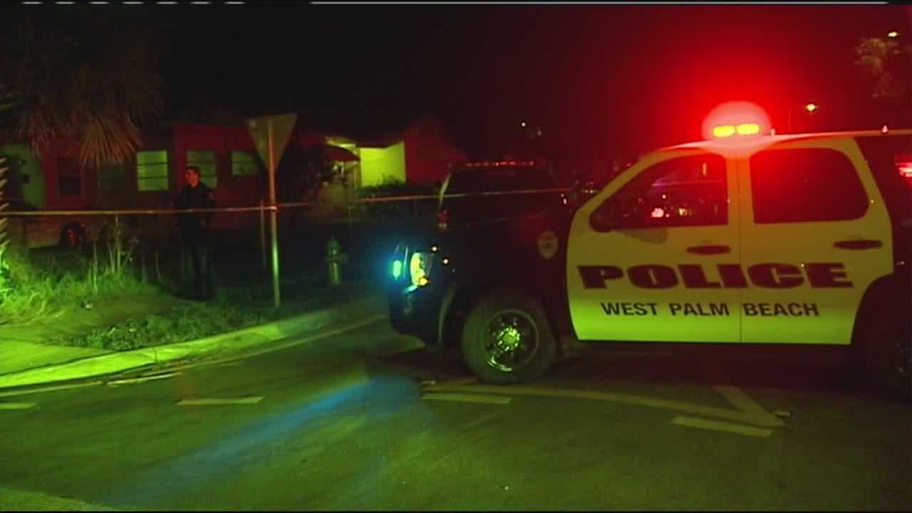 Police are investigating a fatal shooting on 46th Street in West Palm Beach.