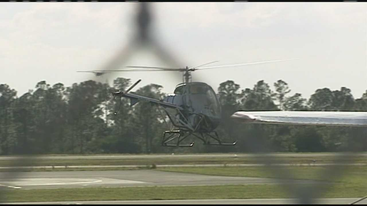Student pilot crashes helicopter at North County Airport