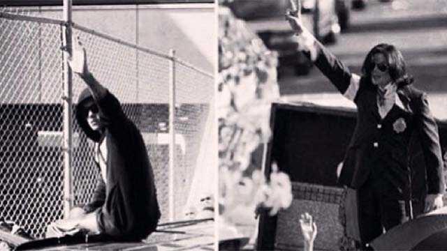 Instagram Bieber + MJ