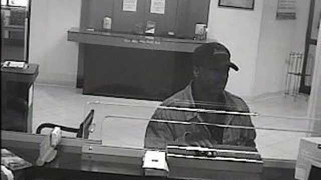 This is the man who tried to rob a BB&T Bank in West Palm Beach.