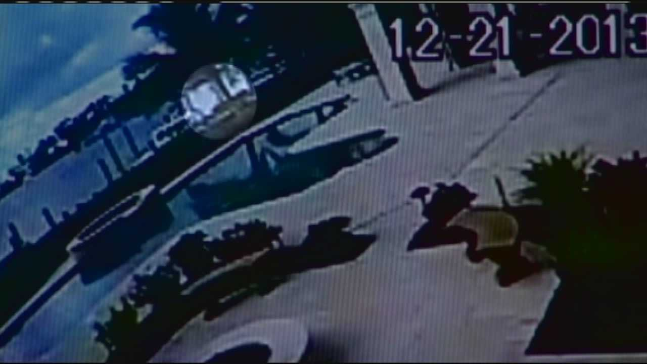 Surveillance video of Al Geary moving mother's body to boat