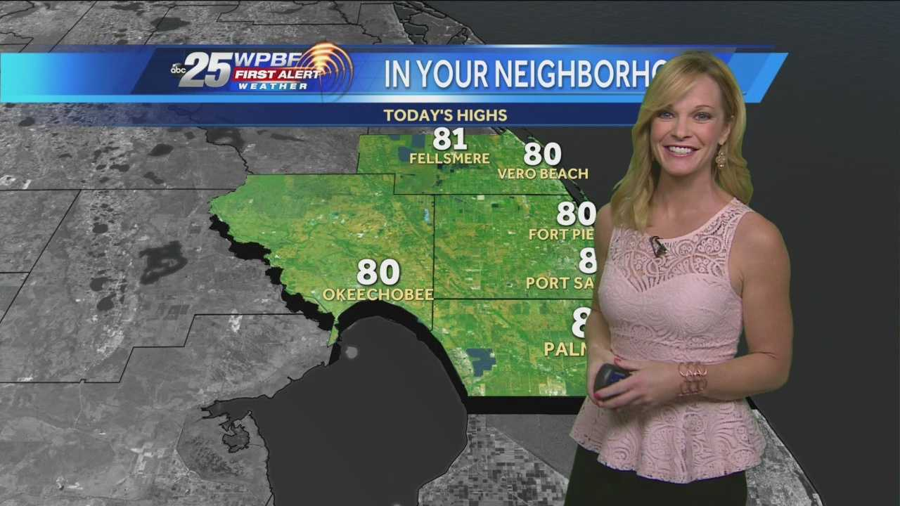 Sandra says the snow and sleet threatening the panhandle won't get close to South Florida, and the dense morning fog will burn off Tuesday afternoon for another warm day.