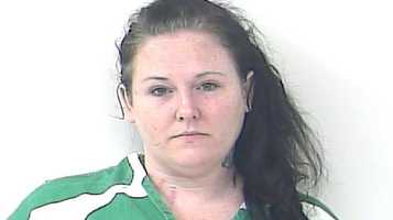 Melissa Bopp is accused of stabbing her fiancé because he wouldn't drive her to the liquor store.