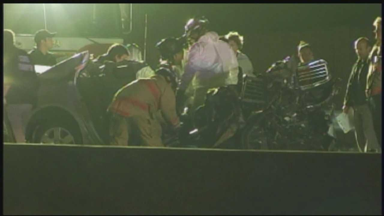 Five people were killed in a wrong-way crash on Interstate 275 in Tampa early Sunday morning.