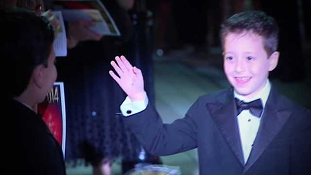 Image Red-carpet event gives young cancer patients a night to shine