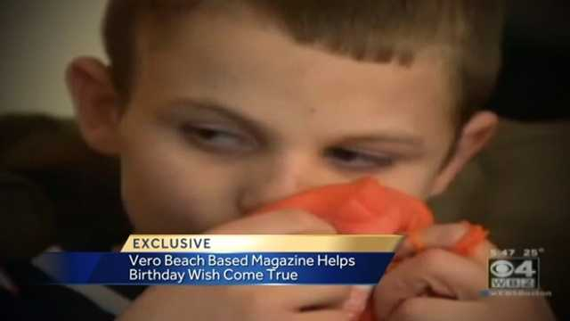 Image Birthday card going global for autistic boy