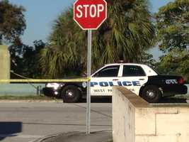 WPBF 25 News' Chris McGrath reported that two dead bodies were found inside a West Palm Beach home that had been surrounded by officers for several hours Tuesday morning.