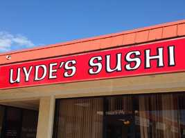Uyde's Sushi in Port St. Lucie