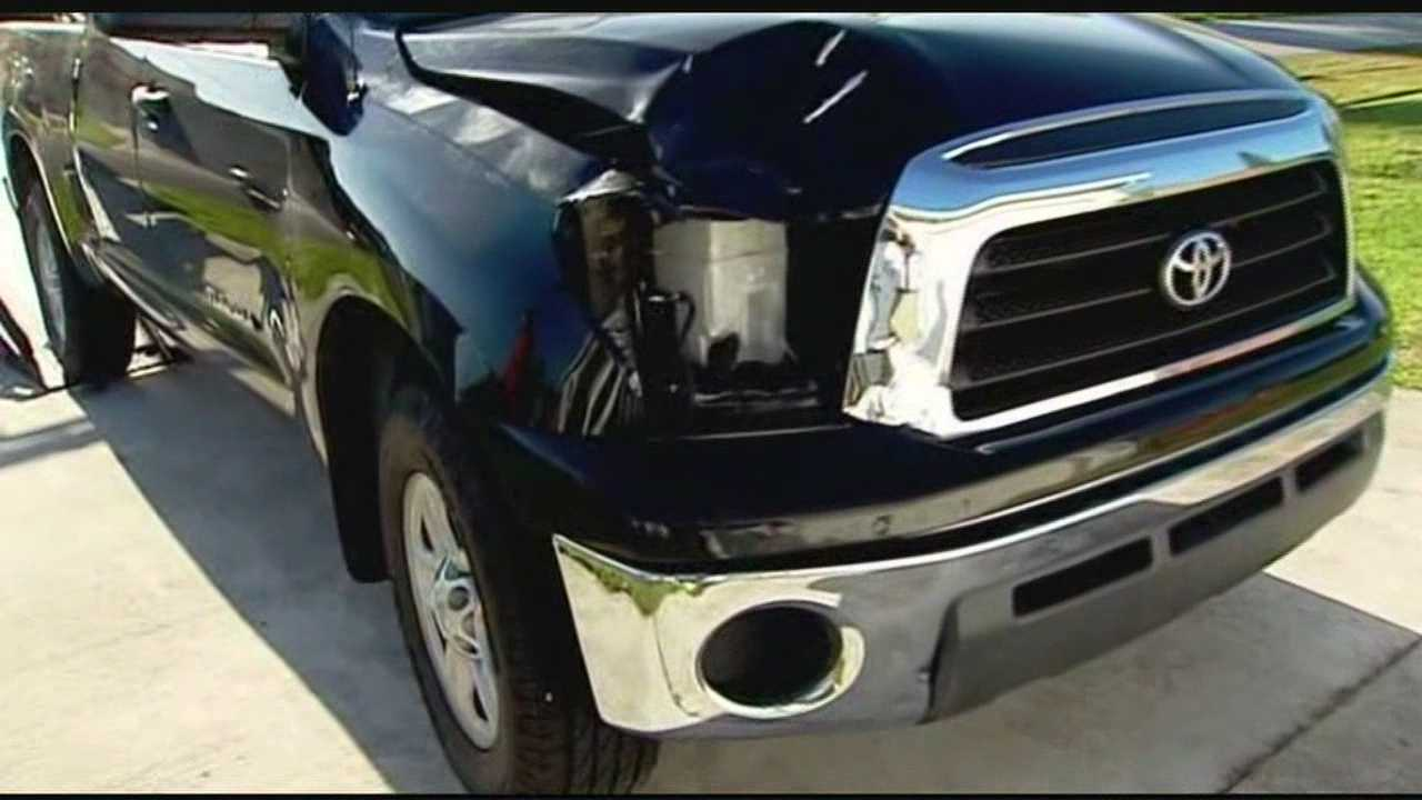 Neighbors reacted Wednesday following the discovery of a vehicle suspected to be involved in a fatal hit-and-run this week.