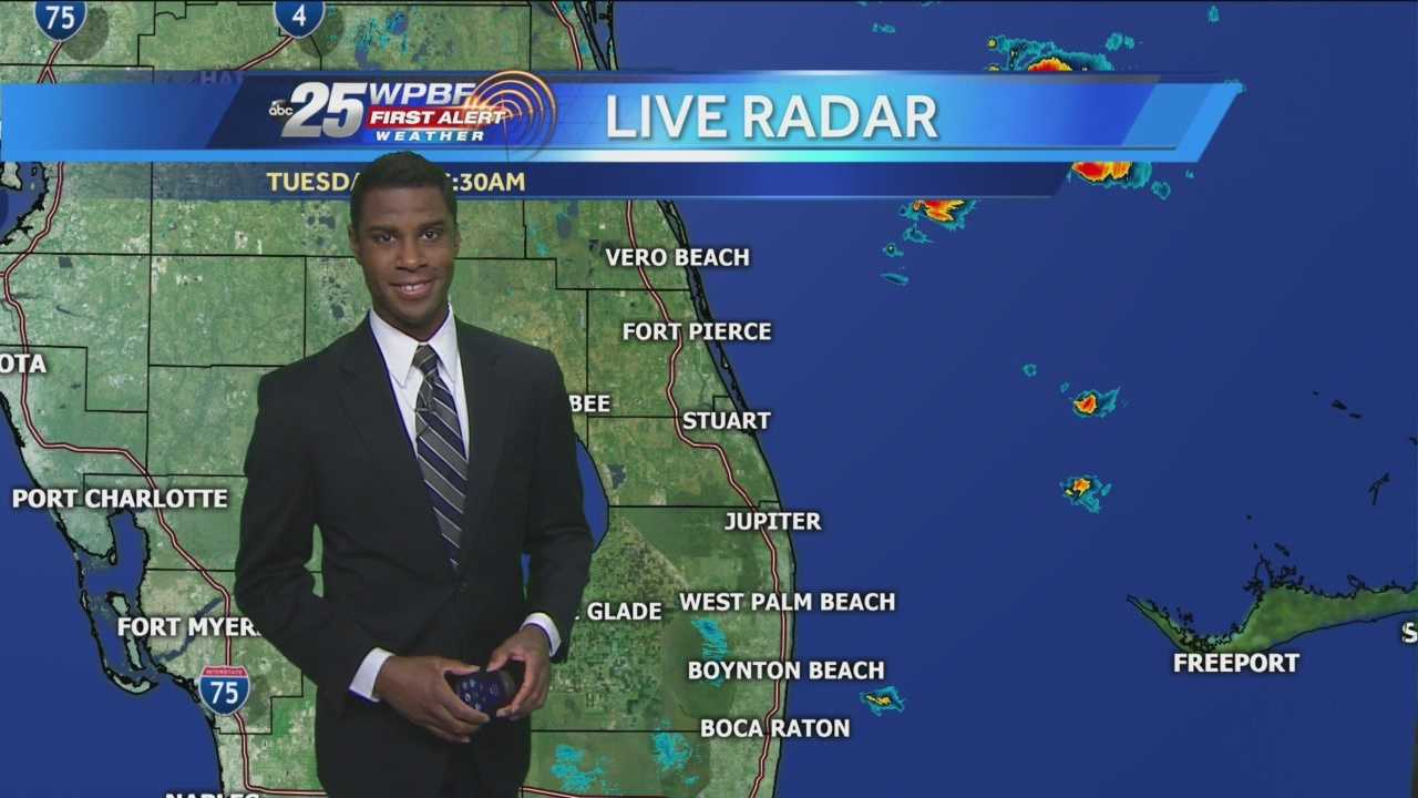 Justin says to keep your umbrella handy as the morning fog gives way to showers this afternoon.