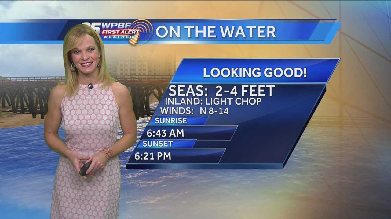 Sandra says the weekend is going to be beautiful around town, particularly in northern Palm Beach County, where some of the world's best golfers have gathered for the Honda Classic.