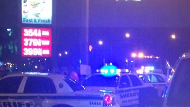 Motorcycle crash in West Palm Beach