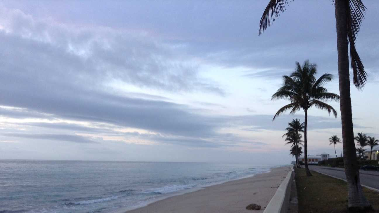 At least six undocumented migrants were taken into custody on Palm Beach early Thursday morning.