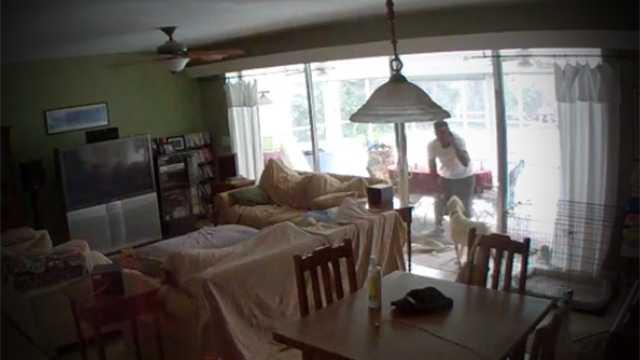 Break-In Caught On Video