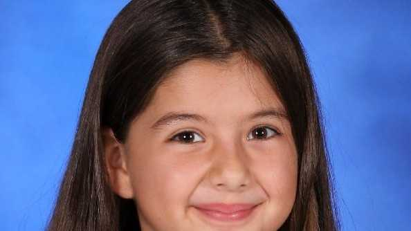 Melanie Ponce De Leon was struck by a car as she was walking home from her school bus stop on March 4.