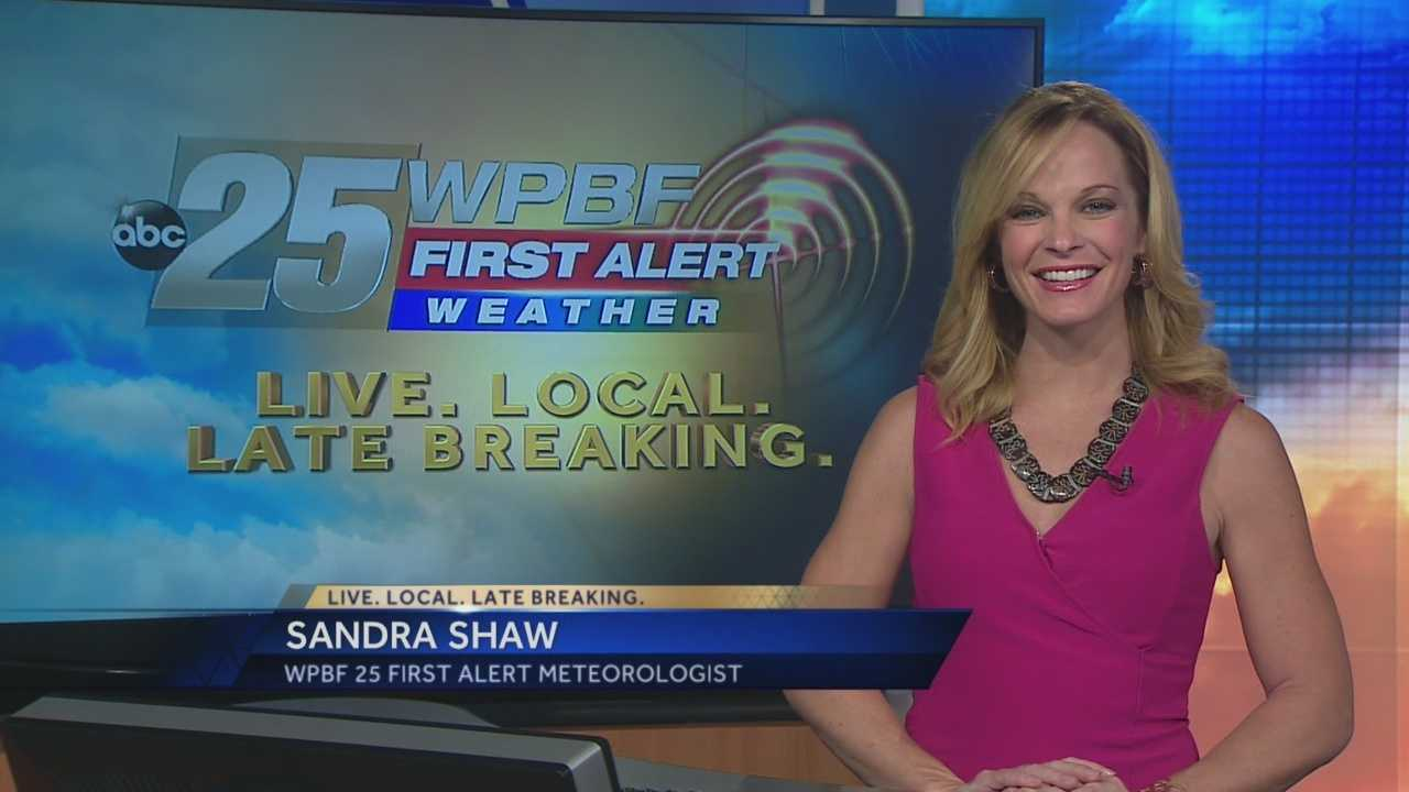 Sandra says the comfortable weather pattern we've seen the last few days continues Monday.
