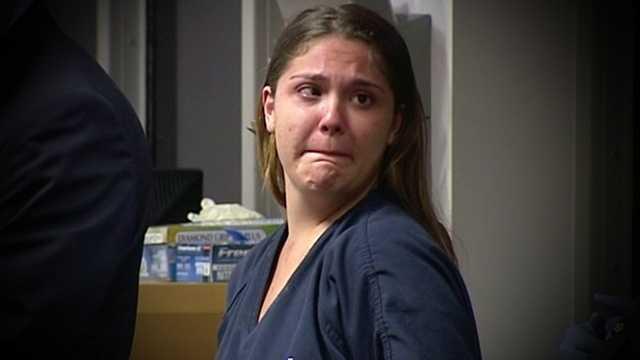 Murder suspect Andrea Alvira made her first court appearance Thursday.