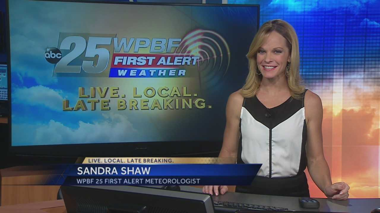 Sandra says the warm trend hangs around, and in fact things might be even warmer this weekend than they've been the last few days.