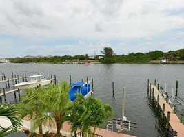 Completely remodeled home directly on the Intracoastal Waterway in Palm Beach Gardens listed for $1.25M.