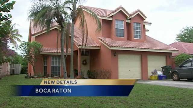 A teenager in Boca Raton said she was attacked while taking out the trash at her home Saturday night.