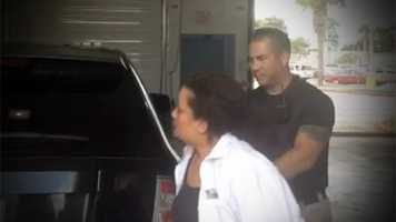 Ivette Barsgulia is checked into the St. Lucie County Jail on Tuesday afternoon following her arrest in connection with a fatal hit-and-run crash on April 7.