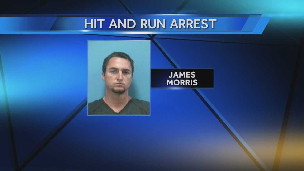 James Morris allegedly confessed to deputies that he was texting while driving when he struck a motorcyclist.