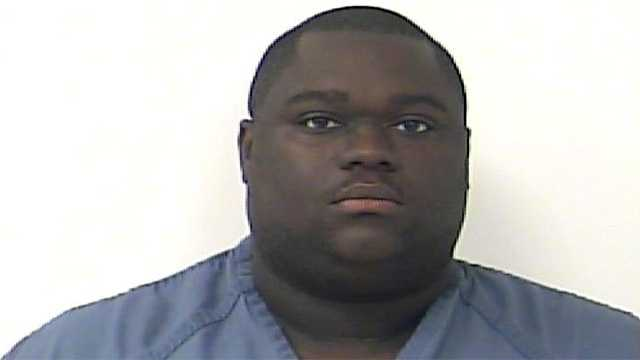 Andrew Wisdom was arrested following an attack on his brother-in-law involving a multitude of weapons.