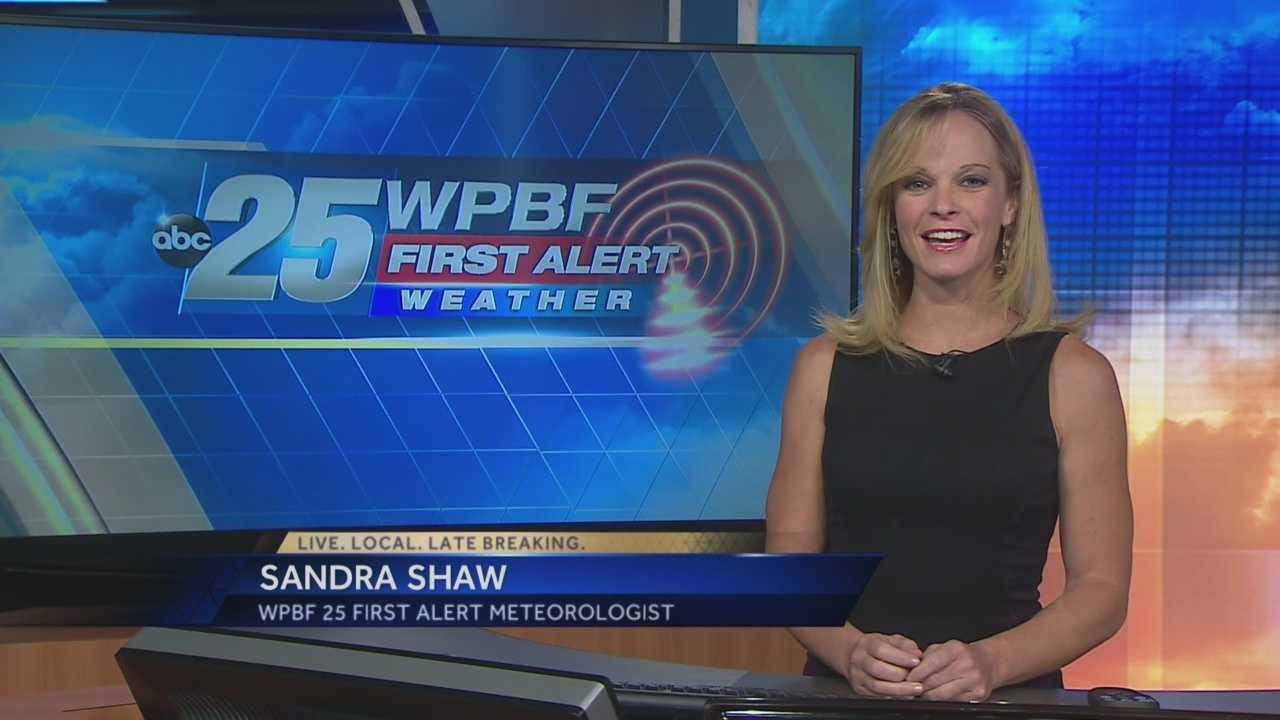 Sandra says continued hot and dry weather is expected Tuesday, with increased humidity on the way.