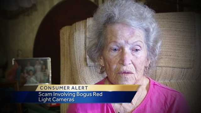 Martha Mills said she knew the man who said he was calling from the sheriff's office was a fake, but police still want seniors to be aware of the scam.