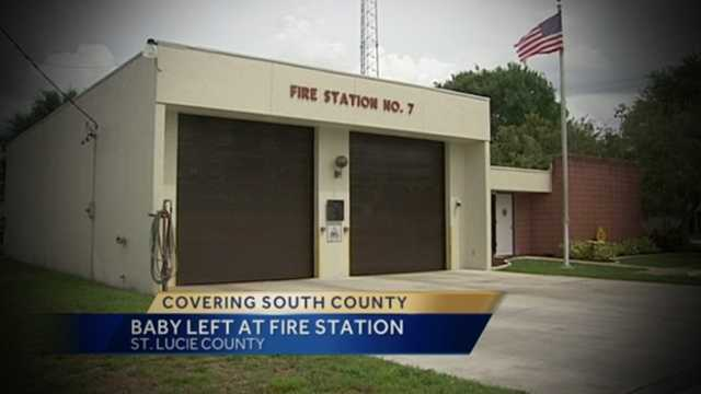 img-Woman claiming to be foster parent drops off baby at fire station