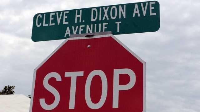 Cleve H. Dixon Avenue