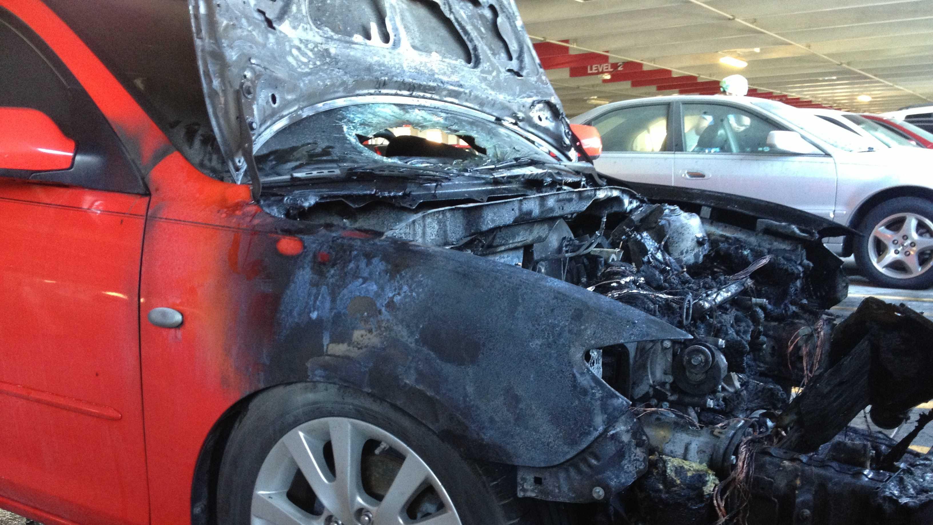 Photo: car fire