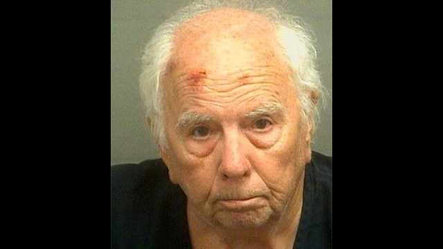 Russell Cooper is accused of trying to rob a bank in Boynton Beach.
