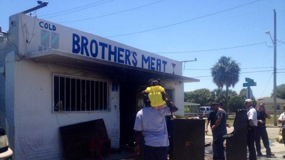 MAY 5: A long-standing grocery store in Fort Pierce suffered heavy fire damage Monday.