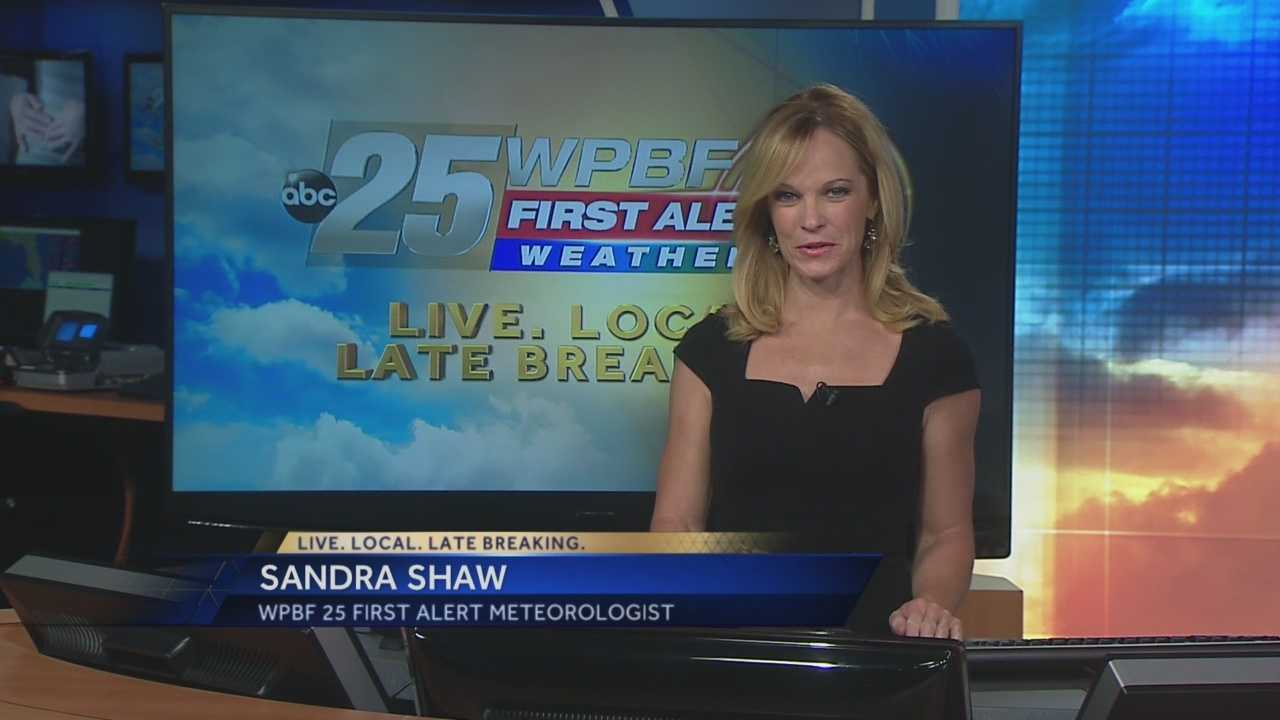 Sandra says the warm and pleasant weather pattern continues around South Florida on Friday.