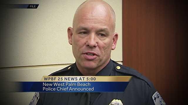Bryan Kummerlen is West Palm Beach's new police chief.