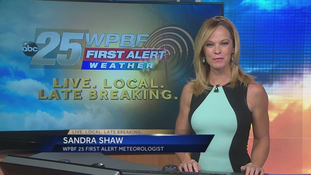 Sandra says more pleasant weather is on the way this week.