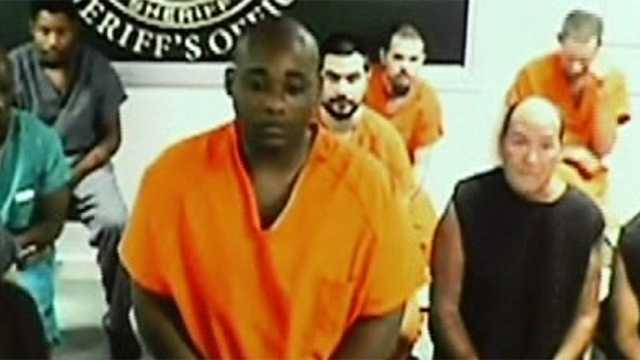 Accused killer Brandon Hawkins was denied bond at his first court appearance Thursday.