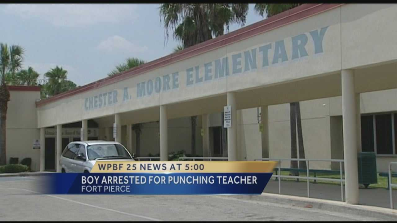 Police: 12-year-old boy arrested for punching teacher in the face