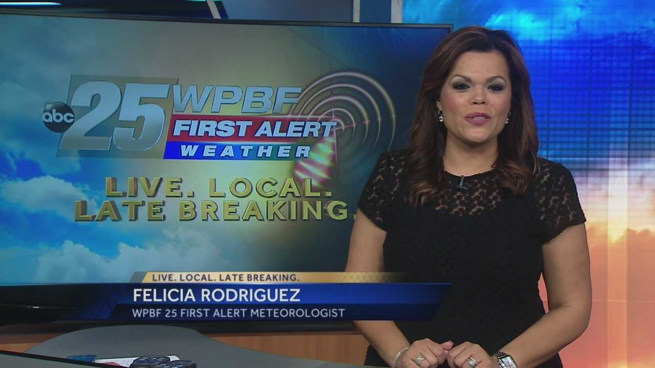 Felicia says another June day means another chance for a shower or two, but otherwise warm temps and partly cloudy skies are expected.