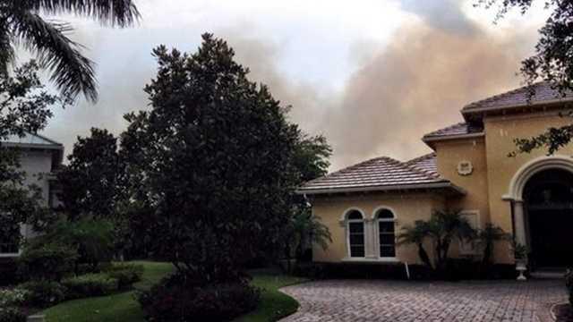 Martin County Brush fire