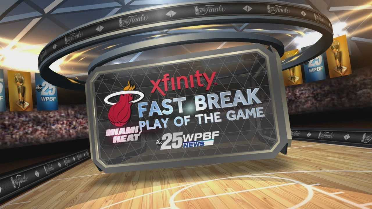 NBA Finals Game 4: Xfinity Fast Break Play Of The Game