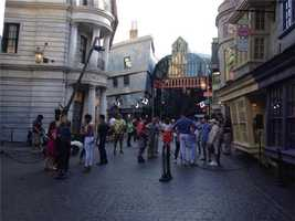 The Wizarding World of Harry Potter - Diagon Alley will open July 8, Universal announced Wednesday morning.