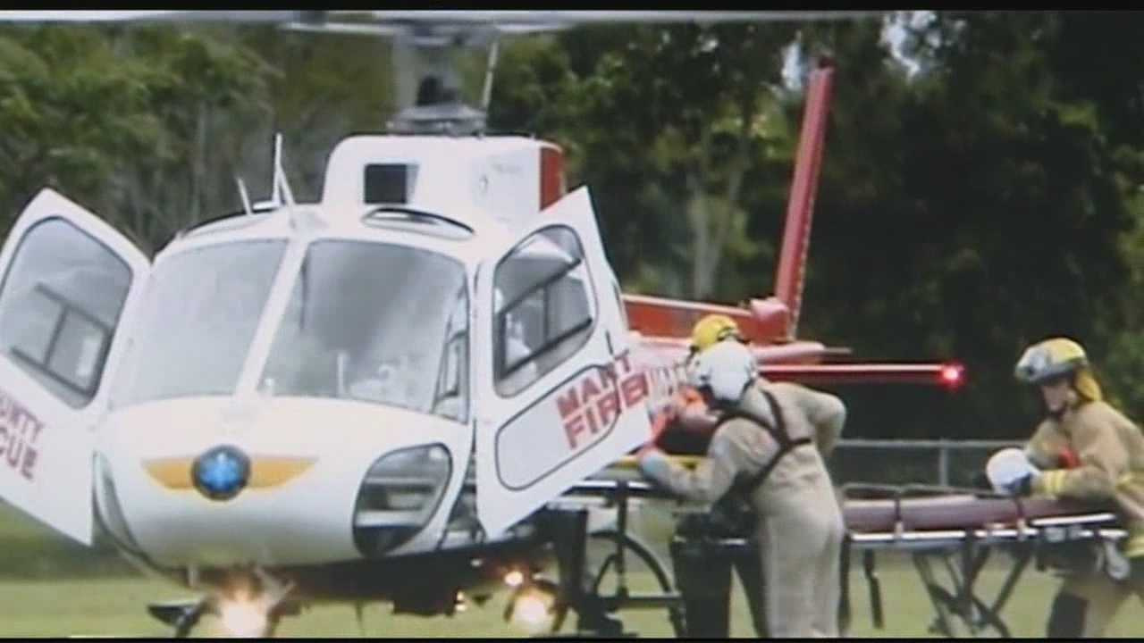 Firefighters in Martin County say they fear the day when a life could be lost because they currently don't have a rescue helicopter.