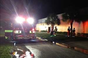 Firefighters credit a PBSO deputy for preventing what could have been a massive blaze inside of a warehouse early Friday.