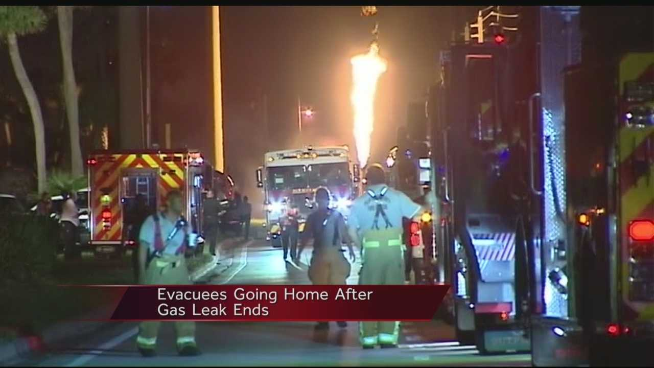 Overnight propane gas leak capped in Tequesta
