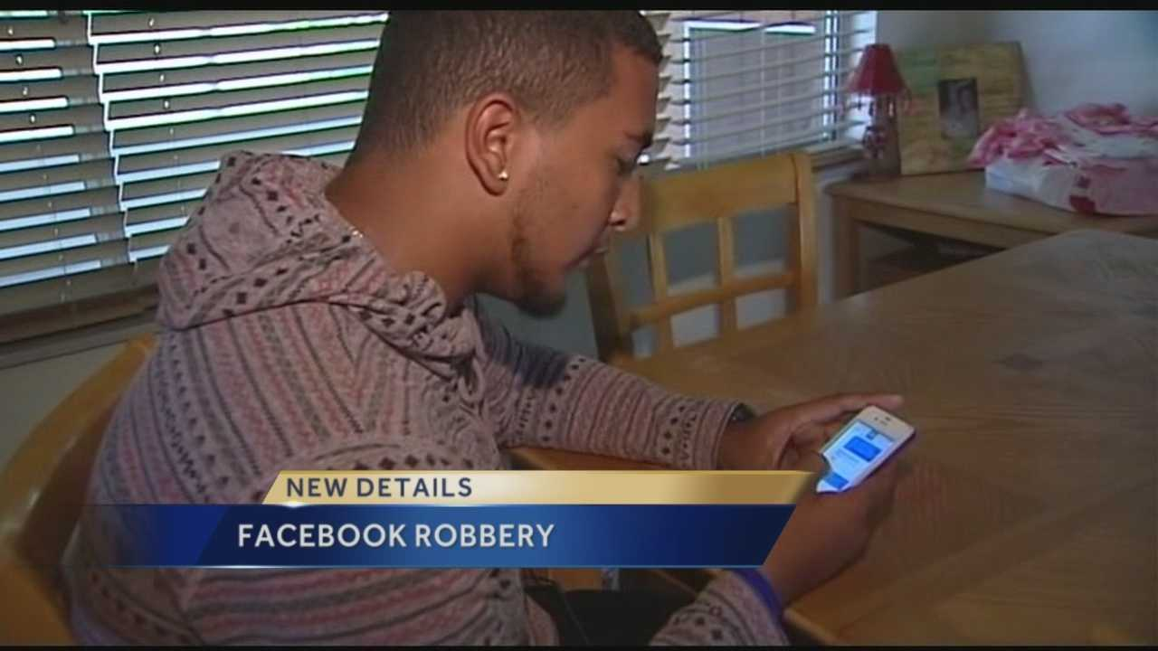 Facebook is an easy way to find someone to sell your stuff to, but one teenager found out it's also an easy way to get set up by an armed robber.