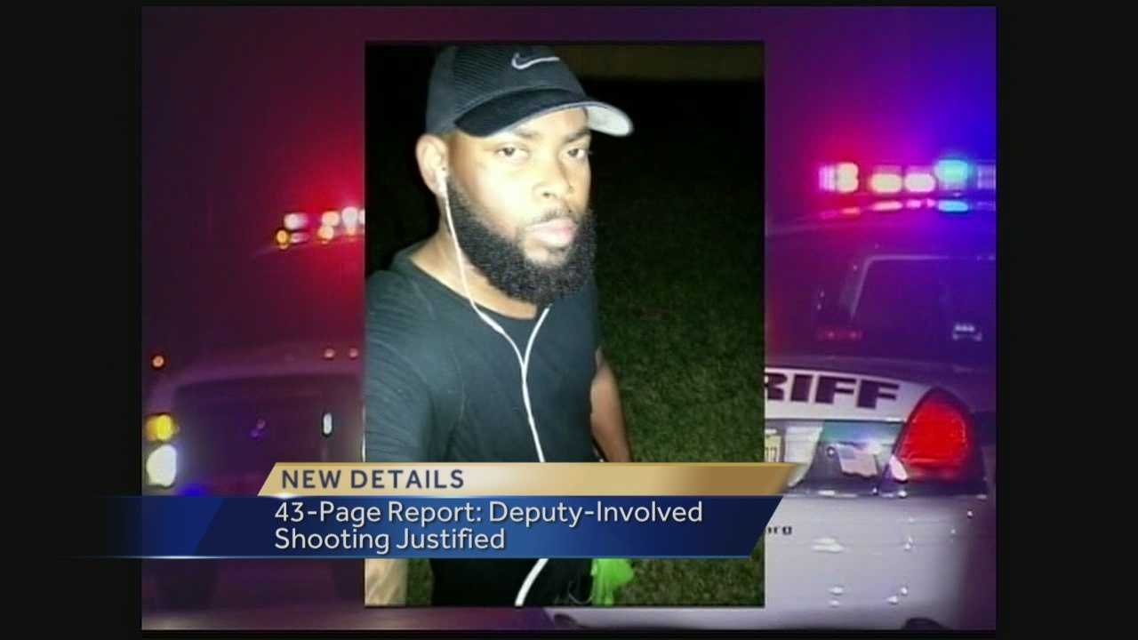 A full report was released Tuesday, detailing the deadly shooting involving a Palm Beach County Sheriff's deputy and Anesson Joseph in February.